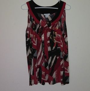 Tunic top from Dress Barn. Like New Condition!